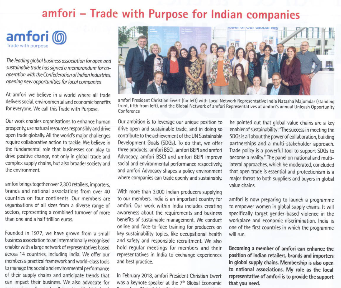 amfori means trade with purpose for companies across the world