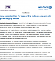 amfori and CII sign a co-operation agreement