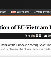 amfori and other business association urge swift ratification of EU-Vietnam FTA