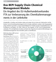 amfori BEPI for the sae management of chemicals