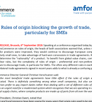 Trade Agreements and Rules of Origin
