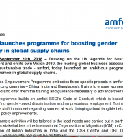 women empowerment in global supply chains