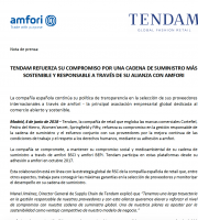 Tendam joins amfori