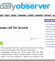 Europe-based rights groups call for Accord continuation