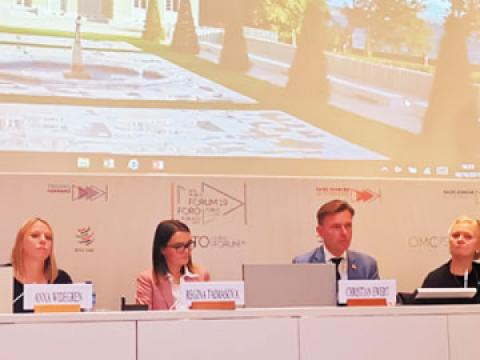 Next generation expectation for trade panel discussion at WTO forum